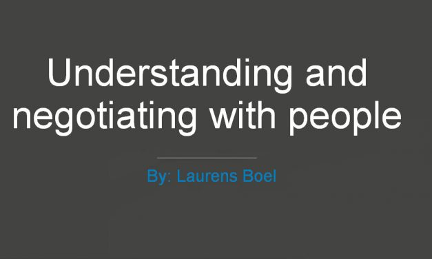 Understanding and Negotiating with People