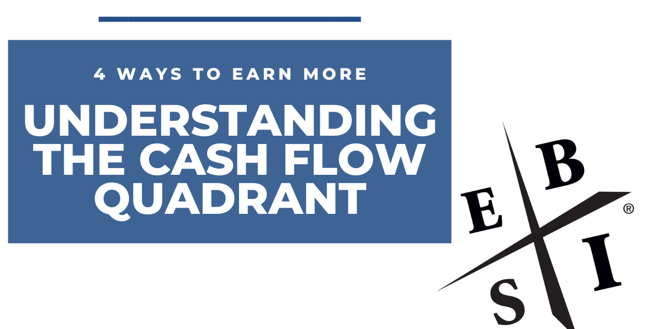 4 Ways to Earn More – Understanding The Cash Flow Quadrant