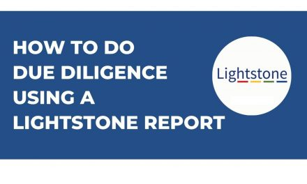 How to Do Property Investment Due Diligence Using a LightStone Report